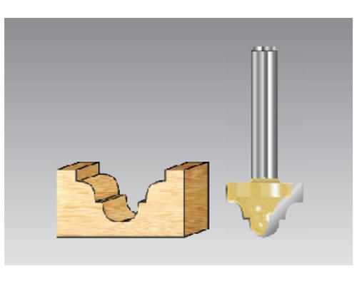 凹弧雕刻刀